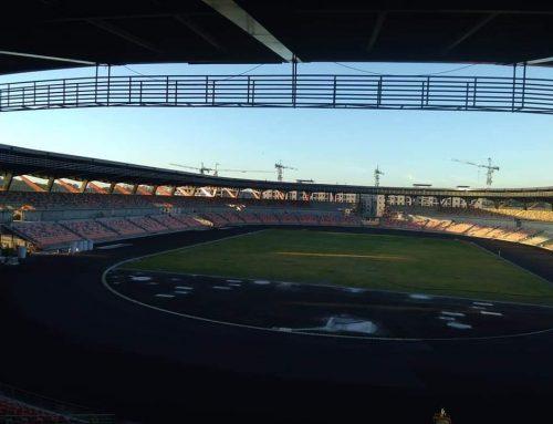 Philippine Athletes First to Train at New Clark City Athletics Stadium