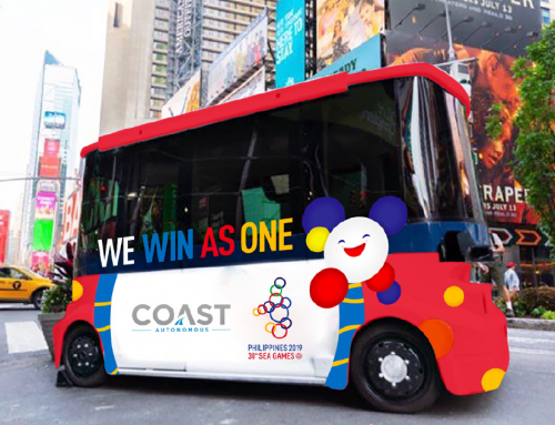 Self-Driving Shuttles to transport athletes during 2019 SEA Games in New Clark City